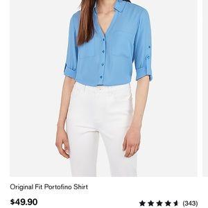 Express original portofino shirt in HOT PINK